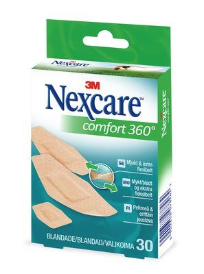 Nexcare Comfort Strips - 14 Plås