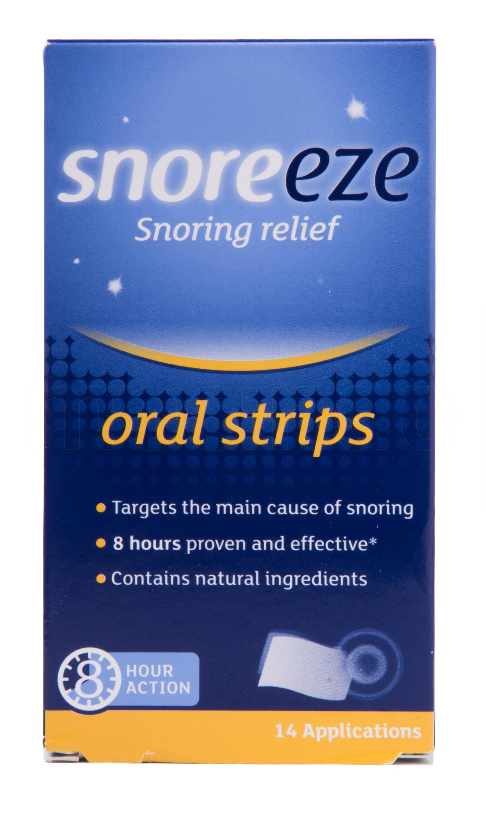 Snoreeze Oral Strips - 14 Stri