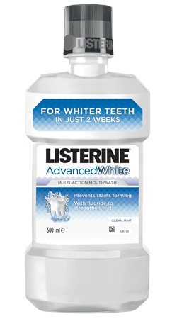 Listerine Advanced White - 500 ml
