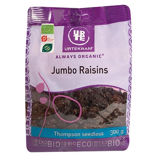 Urtekram Jumbo raisins Ø - 300 G