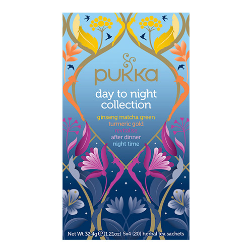 Pukka Day To Night Collection Te Ø Sampak - 20 Pose