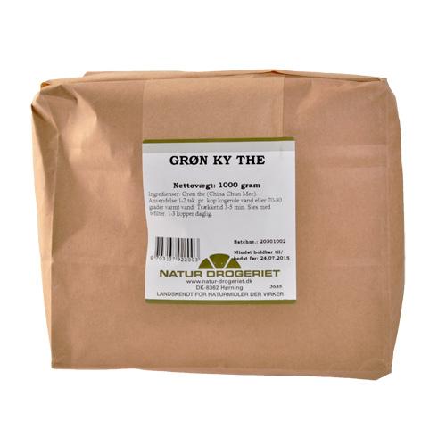 Natur-Drogeriet Grøn Ky Te - 1 Kg