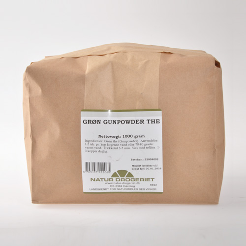 Natur-Drogeriet Grøn Gunpowder Te - 1 Kg
