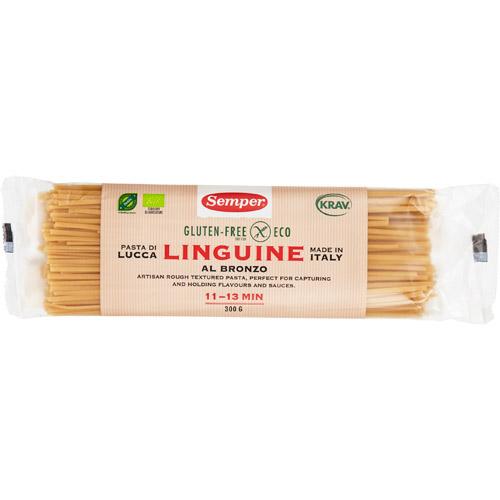 Spaghetti fuldkorn glutenfri Ø Semper - 300 G