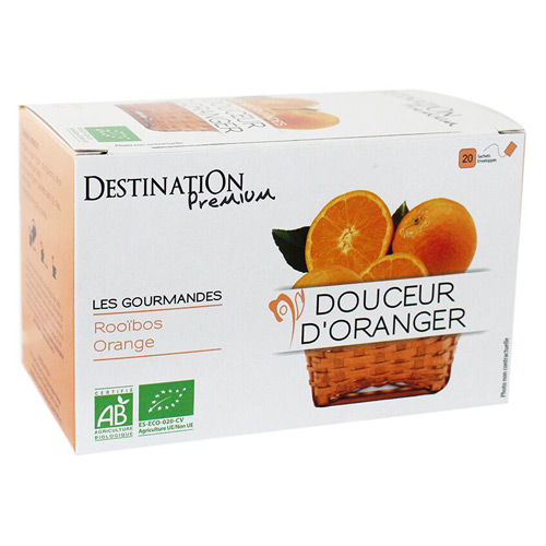 Destination Te Douceur D Orange Ø Gourmet - 20 Pose