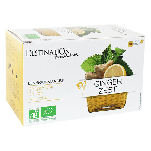 Destination Te Ginger zest Ø Gourmet - 20 Pose