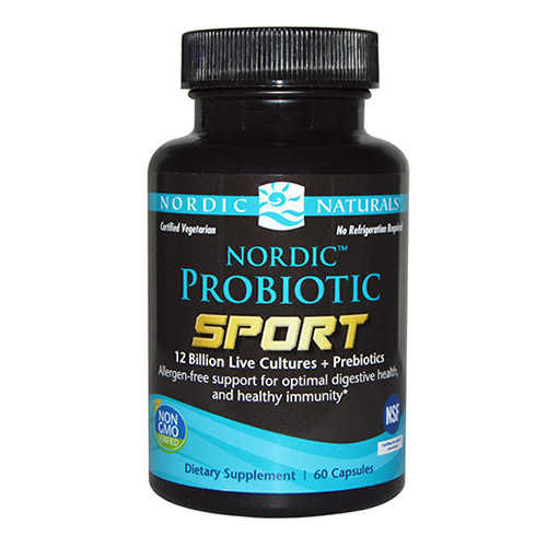 Nordic Naturals Nordic Probiotic Sport - 60 Kaps