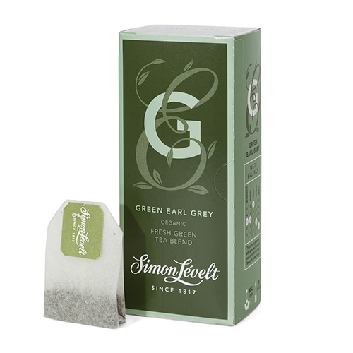 Simon Levelt Green Earl Grey Te, Ø - 20 Pose