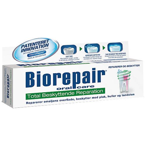 Biorepair Oral Care Total Beskyttende Tandpasta - 75 ml