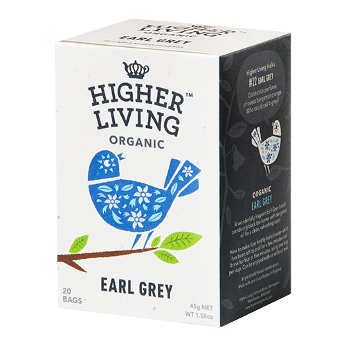 Higher Living Earl Grey Te Ø - 20 Pose