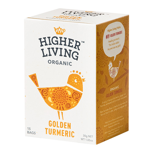Higher Living Golden Turmeric te Ø - 15 Pose