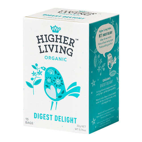 Higher Living Digest Delight Te Ø - 15 Pose