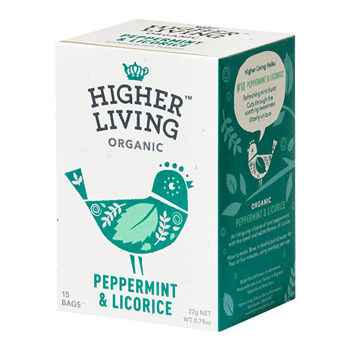 Higher Living Peppermint & Licorice te Ø - 15 Pose
