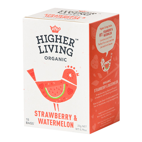 Strawberry & Watermelon te Ø Higher Living - 15 Pose