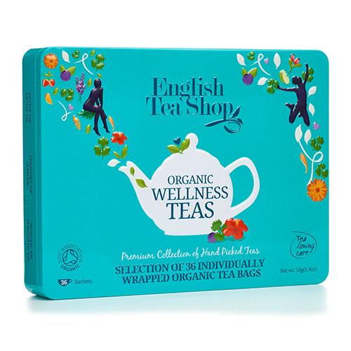 English Tea Shop Gaveæske Te Wellness Ø Organic - 1 Pake