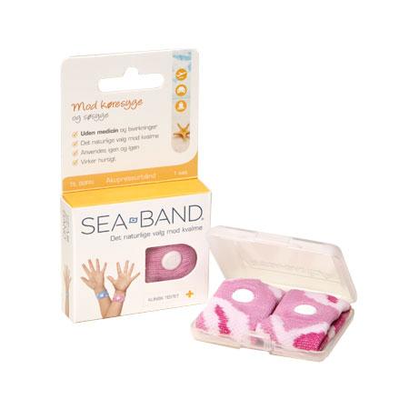 SeaBand For Children - Pink - 2 Stk. - 1 Pakke