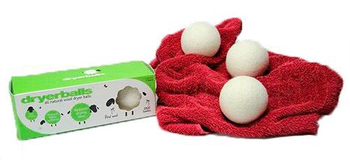 BRIX Dryerballs 100% Uld 3 Stk. Tørretumbling - 1 Pakk