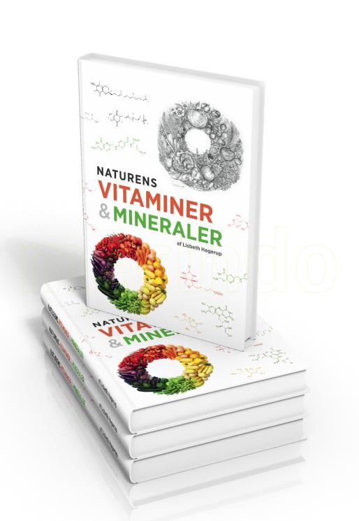 Naturens vitaminer & mineraler bog Forfatter Lisbeth Hagerup Andersen - 1 stk