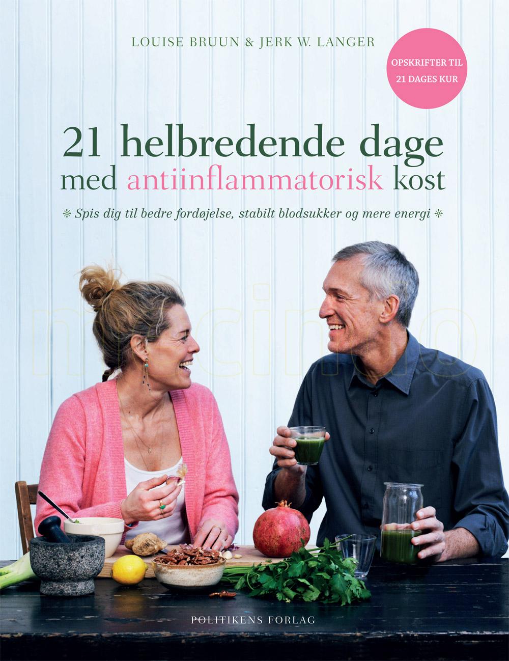 JP/Politikens Forlag 21 helbredende dage med antiinflammatorisk kost BOG Forf. Bruun & Langer - 1 stk